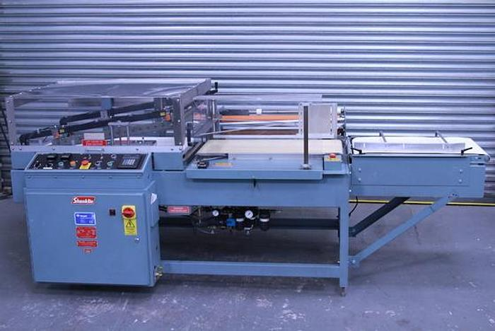 Used Shanklin A27a L Heat Sealer Shrink Wrapper with Shanklin 400 series T-7 XL Shrink