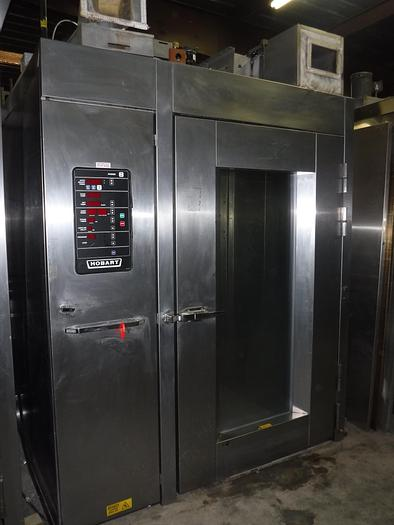 Used USED HOBART® DOUBLE RACK GAS OVEN, MODEL HBA2G, 0002153