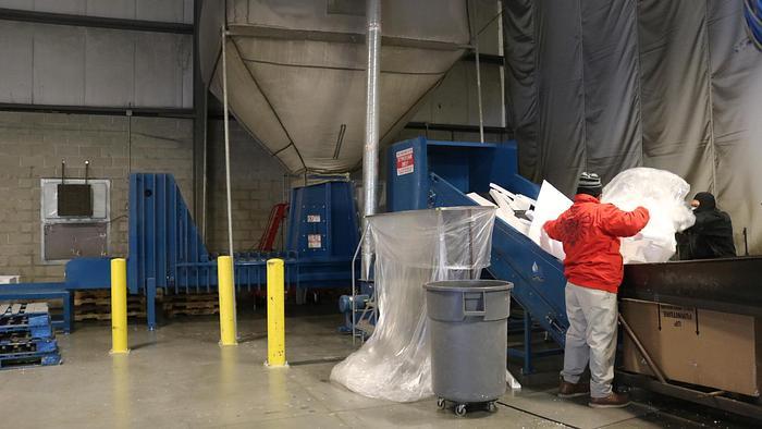 Styrofoam Densifier
