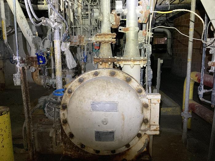Used Beloit MR Horizontal Pressure Screen w/ Motor
