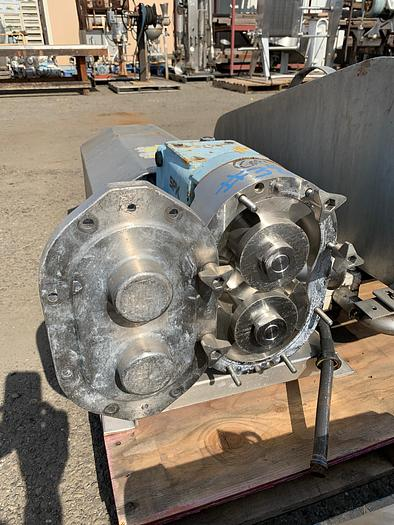 Used Waukesha Model 130 Positive Displacement Pump 130