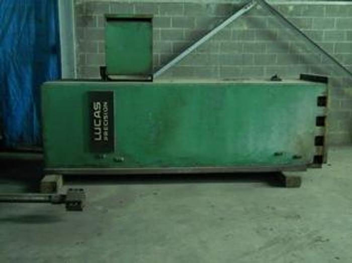 "Used 5"" Lucas Model 30T CNC Table Type Horizontal Boring Mill; S/N 30 T 0129; Mfg. 1982"