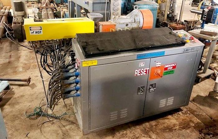 Used Werner & Pfleiderer 30mm 28:1 co-rotating twin screw extruder