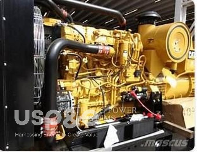 Used .60 MW 2008 Used Caterpillar C18 Diesel Generator Sets
