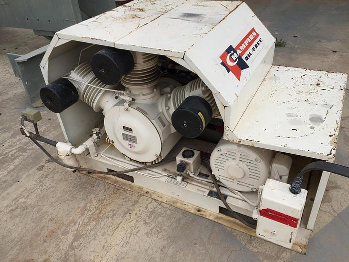 Used 15 HP Champion Air Compressor