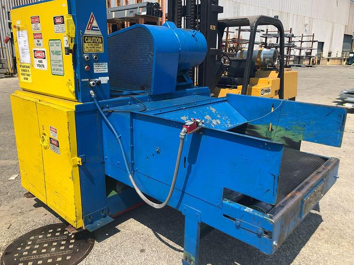 "Used 48"" WIDE BLOAPCO FLOOR MOUNT SHREDDER"