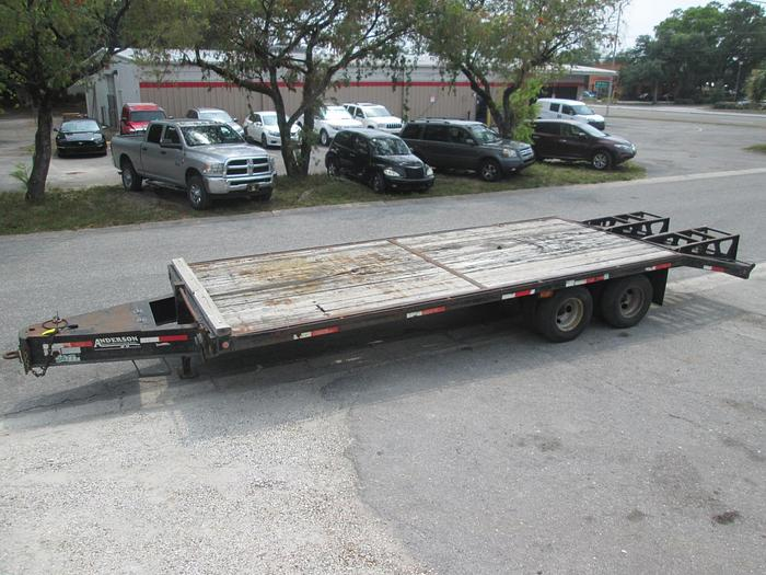Anderson 10 ton Deck-over Equipment Trailer