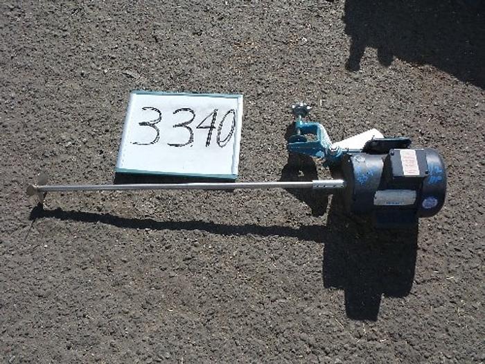 Used Neptune 1/2 Hp. Tank Mixer