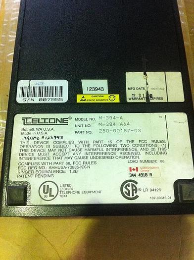 Teletone Line Sharing Switches