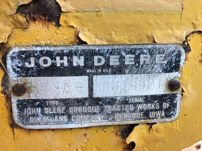 Used John Deere 570A