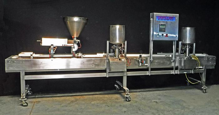 USED UNIFILLER AUTOMATED CAKE ICING SYSTEM