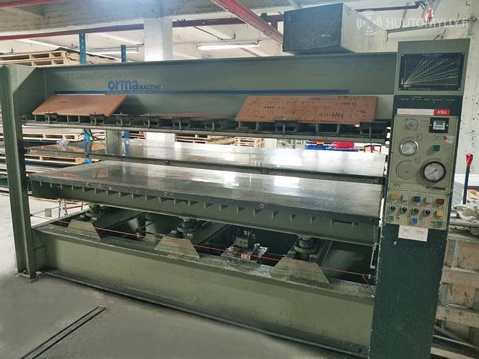 Used 1995 ORMA macchine Italy Veneer press ORMA NPC 3000, 2 decks