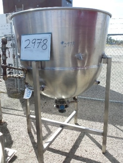 Coulter 350 Gallon Jacketed Kettle #2978