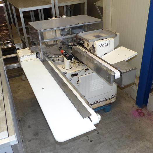 Gebraucht gebr. Stannioliermaschine RASCH Type RK für Bodenfaltung.