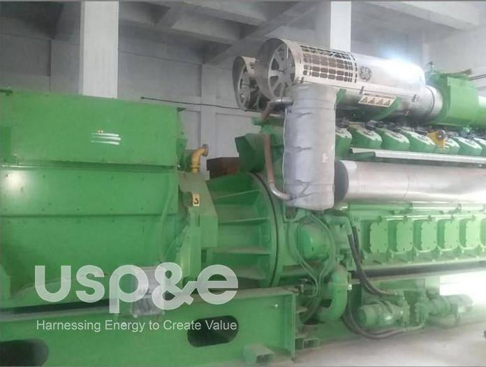 Used 1.5 MW 2011 New Jenbacher JMS320GS-SL Natural Gas Generator Sets