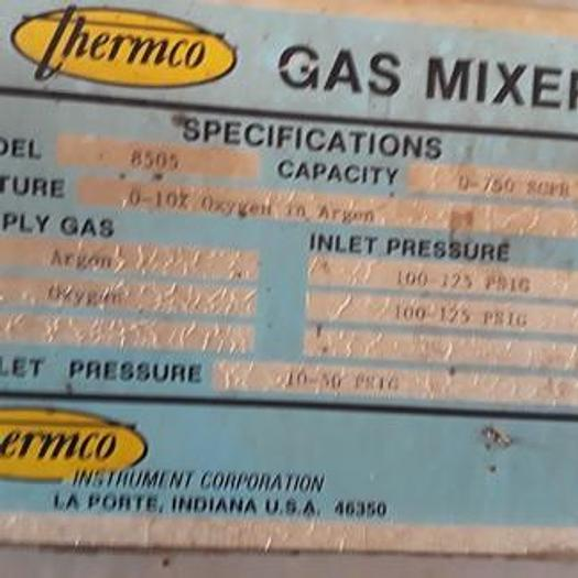 Used Thermco 8505 Gas Mixer