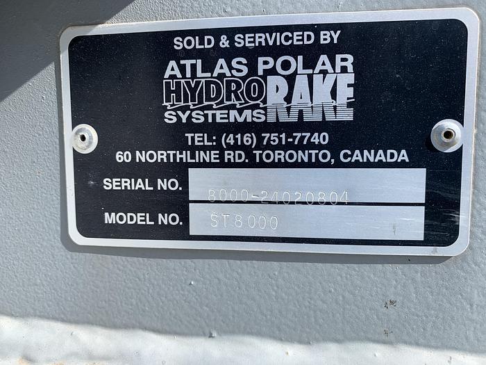 Atlas Polar Hydro Rake Mdl. ST 8000