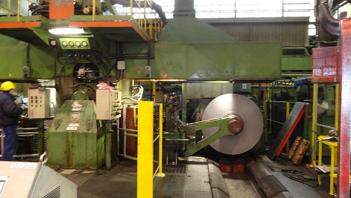 """Used 420mm (16.5"""") MINO 4-Hi Cold Rolling Mill: RM-447"""