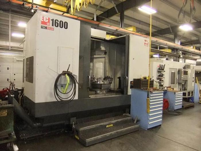 Used 2014 Haas EC-1600 Horizontal Machining Center