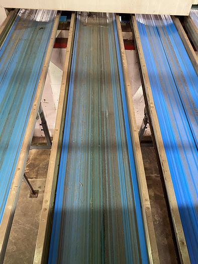 Used Steel Conveyor belt 8m L 0.7m W