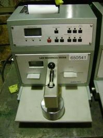 Used SHEFFIELD SMOOTHNESS TESTER LORENTZEN AND WETTRE 112 TYPE 1-1