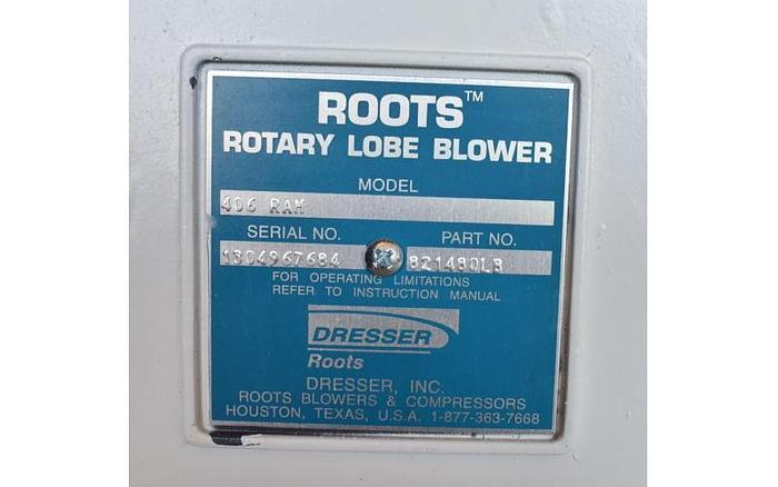 USED ROOTS ROTARY LOBE BLOWER BLOWER, 225 CFM