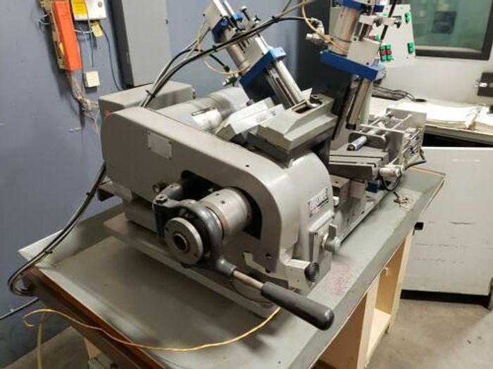 HARDINGE MODEL HSL-59 AUTOMATIC PRODUCTION SPEED LATHE W/ CONTROLS AND CUTOFF