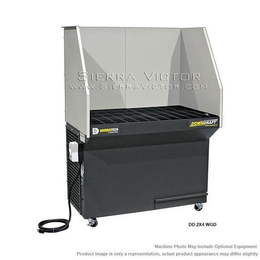 DIVERSI-TECH Portable Downdraft Tables DD 2X4