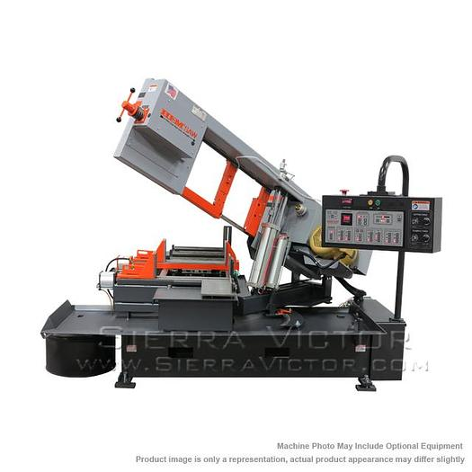 HE&M Horizontal Miter Bandsaw CYCLONE A-4