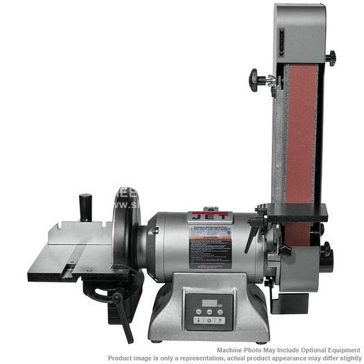 JET IBDG-248VS Variable Speed Industrial Belt and Disc Grinder 577842