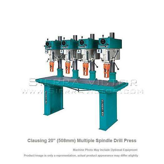 CLAUSING Variable Speed Multiple Spindle Drill Press CLAUSING 20