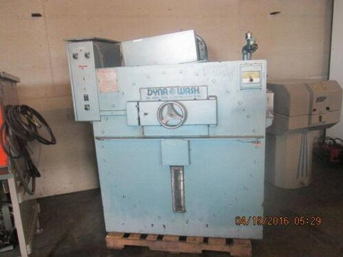 Used EDRO / DYNA WASH MODEL DW 1000C THREE POCKET END LOADER / WASHER- EXTRACTOR