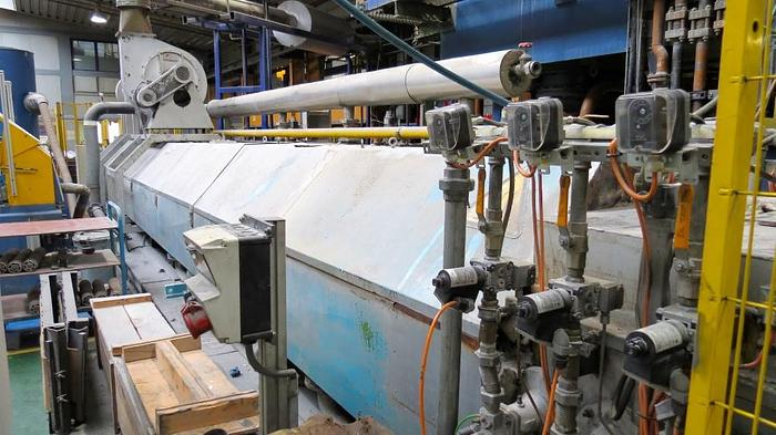 Used 2000 Mton Sms Aluminum Extrusion Line Ex 481 For