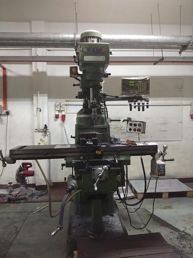Used Van Used Milling Machine