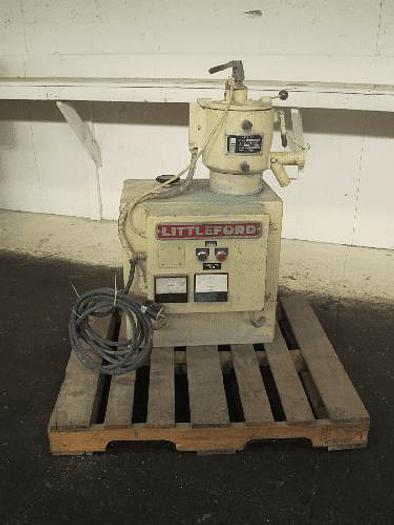 Used 7.5 LITER LITTLEFORD W-10 HIGH INTENSITY MIXER – S/S – JACKETED – #8324