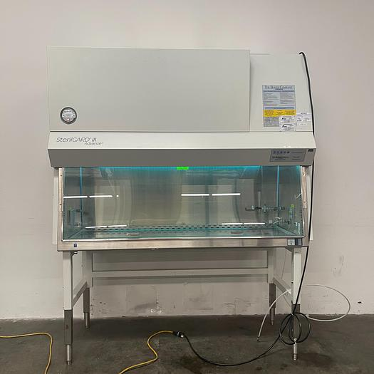Used Baker SterilGARD III  SG603- Class II Type A/B3 Biological Safety Cabinet 6Ft
