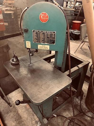 Roll-In Vertical Bandsaw Model 1459