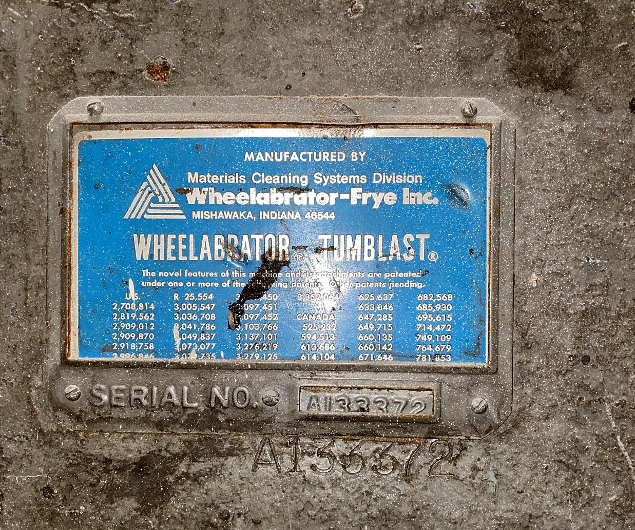WHEELABRATOR 14 SUPER II TUMBLAST