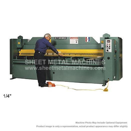 """BETENBENDER Hydraulic Shear Model 8-250 8' x 1/4"""""""