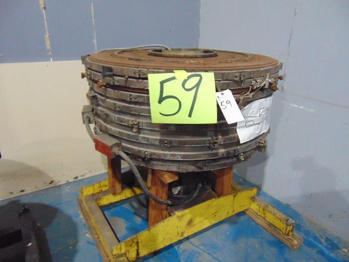 """Used 34"""" Die w/ Cart & IBC"""