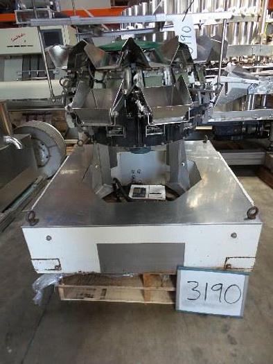 Used Ishida 14 Bucket Rotary Scale