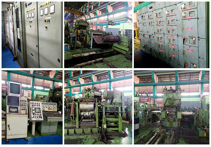 Used 1700 mm Aluminum Cut-to-Length Line: CTL-146