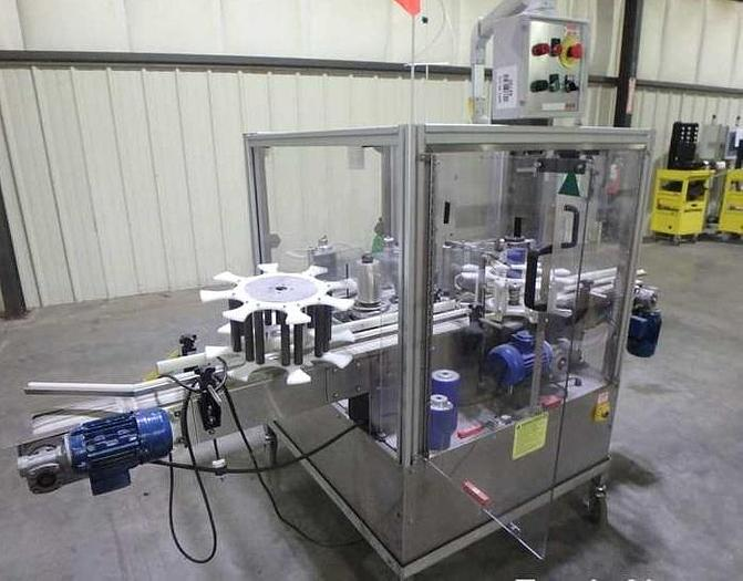 Used 2008 Ketan automation wrap pressure sensitive labeler