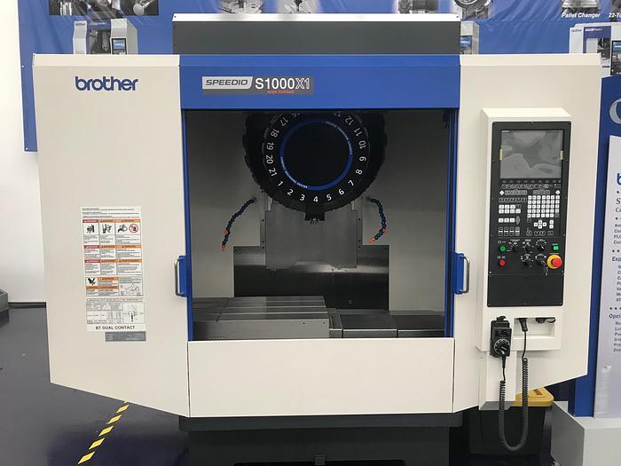Used 2015 Brother  Speedio S1000X1 Demo Machine