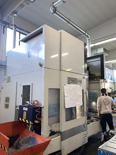 Installata Centro di Lavoro Verticale a 5 Assi SPINNER U5-1520