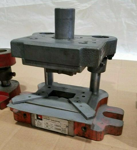 Used Danly Precision Die Set for stamping press with Tool in it Punching Piercing