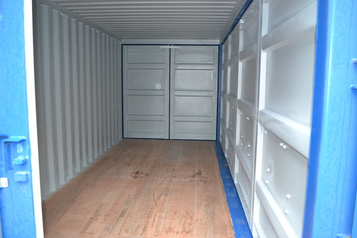 """20 'Container 9'6 """"Both sides open"""