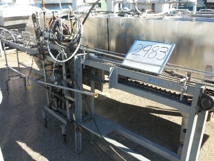 Can Line Conveyor with Air Blower/ Cleaner #2983