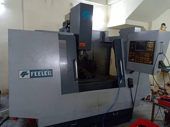 Used 2009 FEELER FV 1000 CNC MILLING MACHINE CENTER