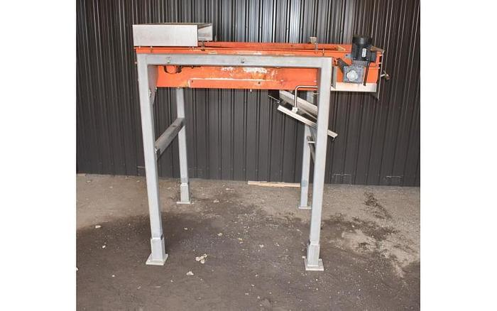 "Used USED ERIEZ CP MAGNETIC BELT CONVEYOR, 29.5"" WIDE X 72"" LONG"